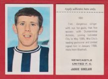 Newcastle United Jackie Sinclaie Scotland 180